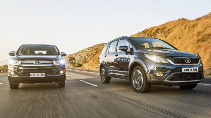 Tata Hexa vs Toyota Innova Crysta: Heavyweight Hustle