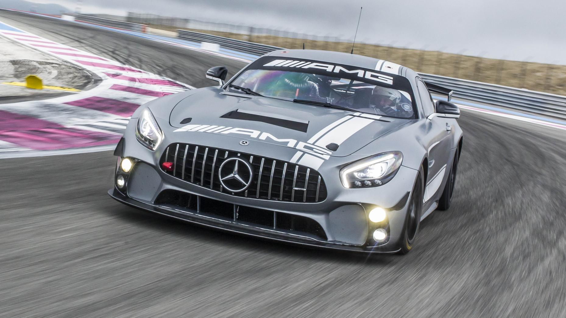 Mercedes-AMG GT4 racer: ten things you need to know