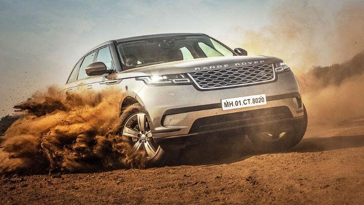 Range Rover Velar: Thunderball
