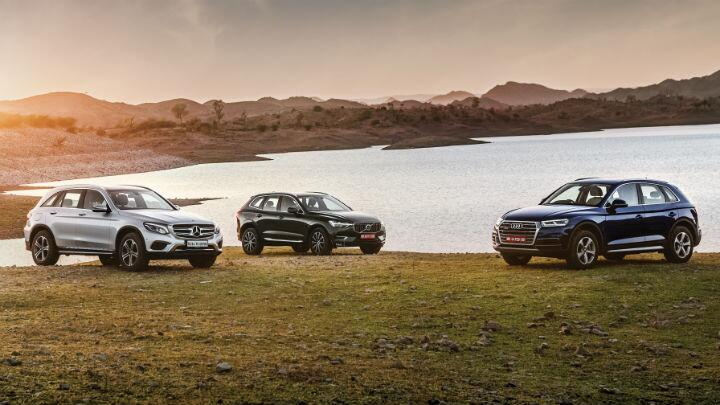 Comparison: Volvo XC60 vs Audi Q5 vs Mercedes-Benz GLC