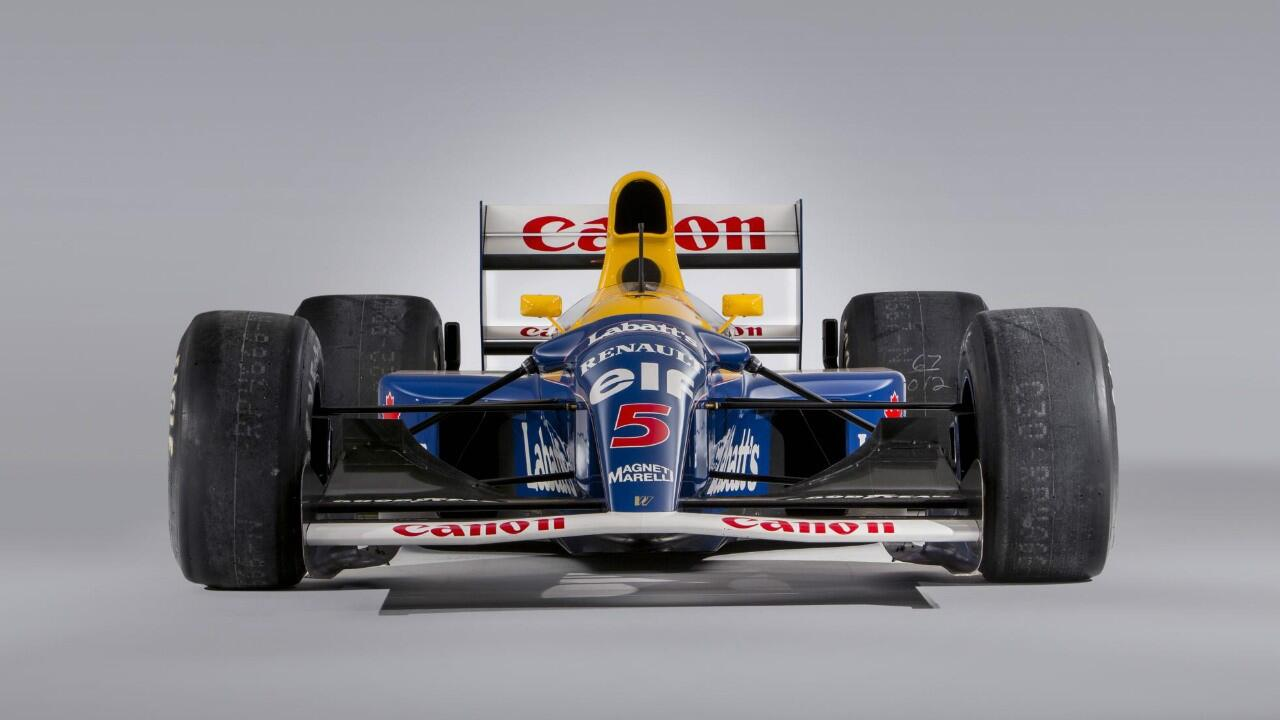 Buy Nigel Mansell's title-winning F1 car for Rs 27 cr