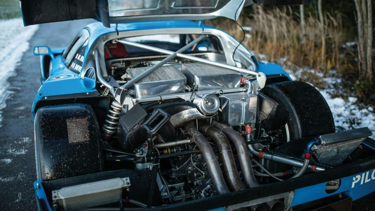 Stare at this blue Ferrari F40 LM that just sold for Rs 38.7 cr