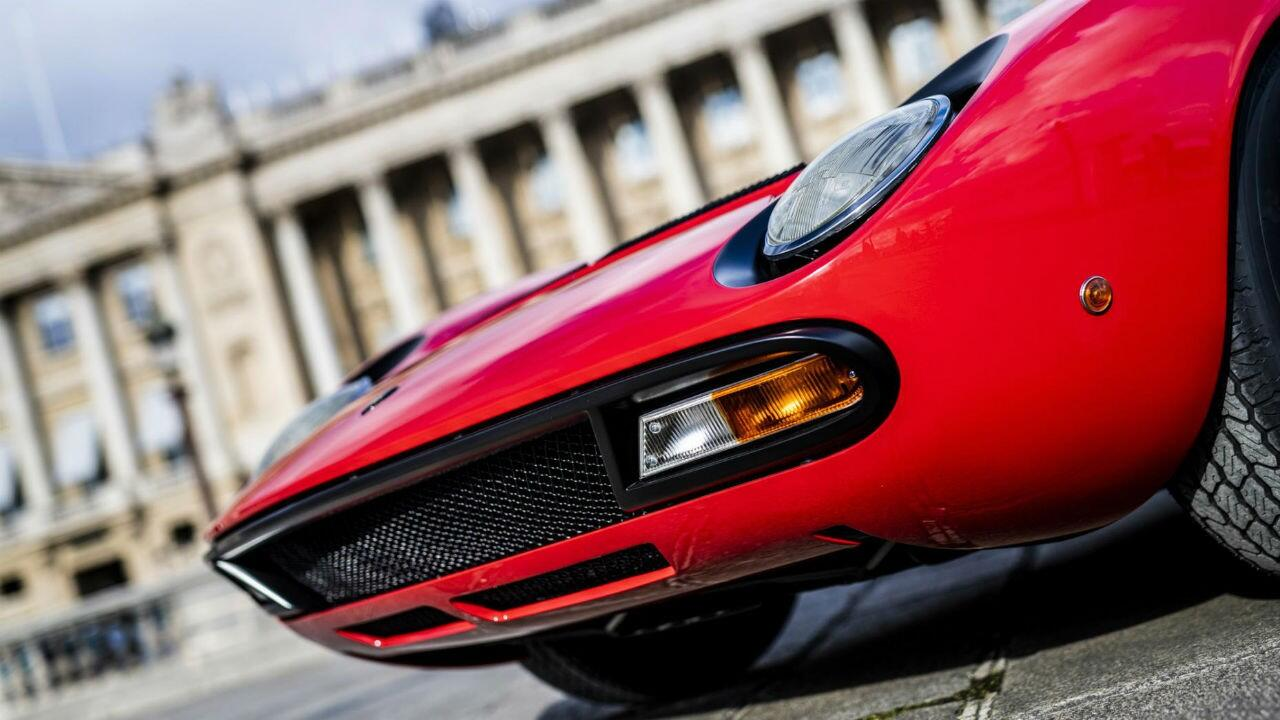 This has to be the best-looking Lamborghini Miura ever