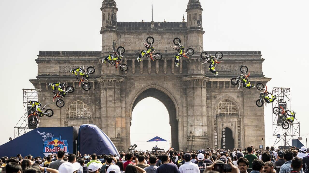RedBull FMX Jam wows Mumbai