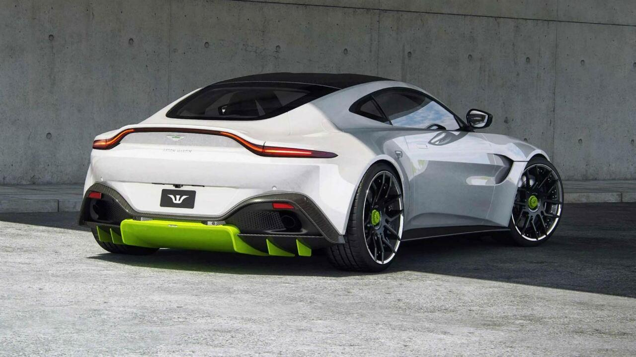 This is a modified Aston Martin Vantage with 671bhp