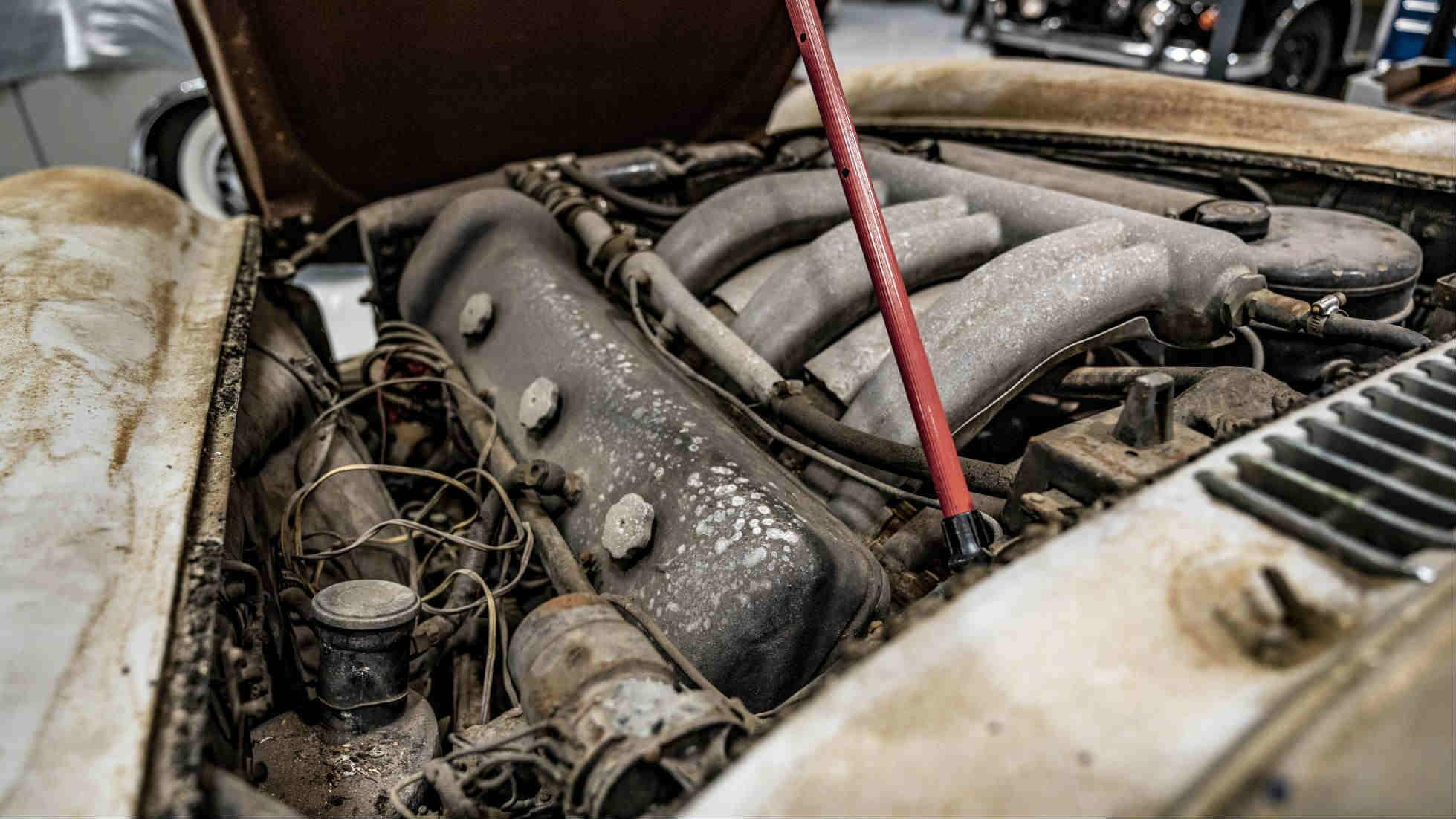 Is this 300 SL Gullwing the ultimate barn find?