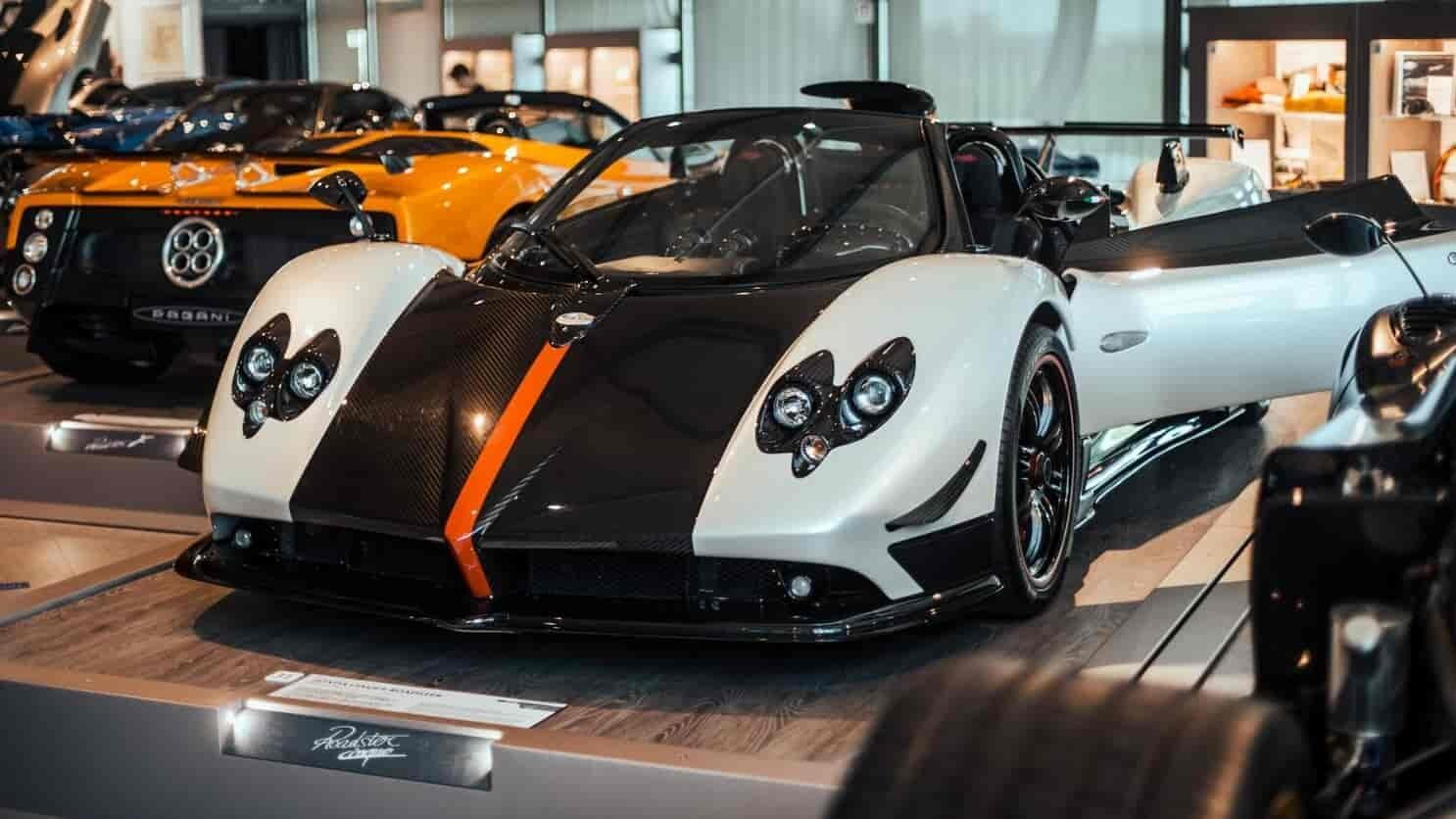 Take a look inside the incredible Pagani museum