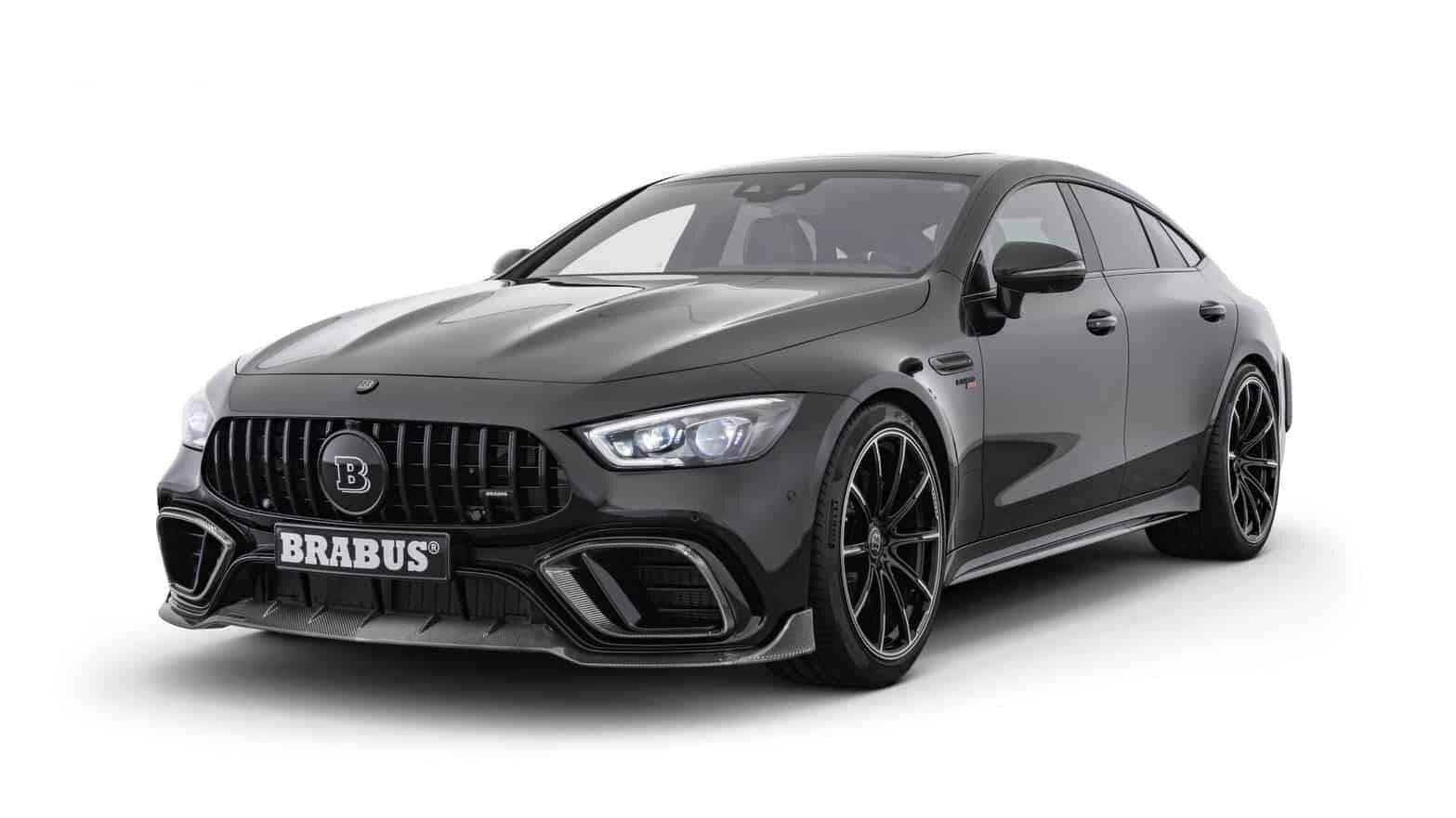 This new Brabus AMG GT 4dr will do 0-100kph in 2.9s
