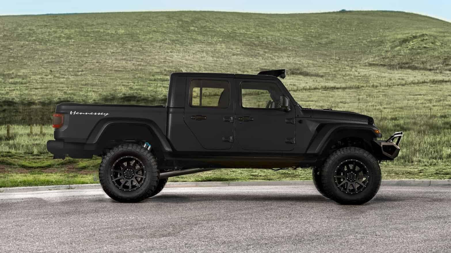 This is Hennessey's 1000bhp Jeep Gladiator