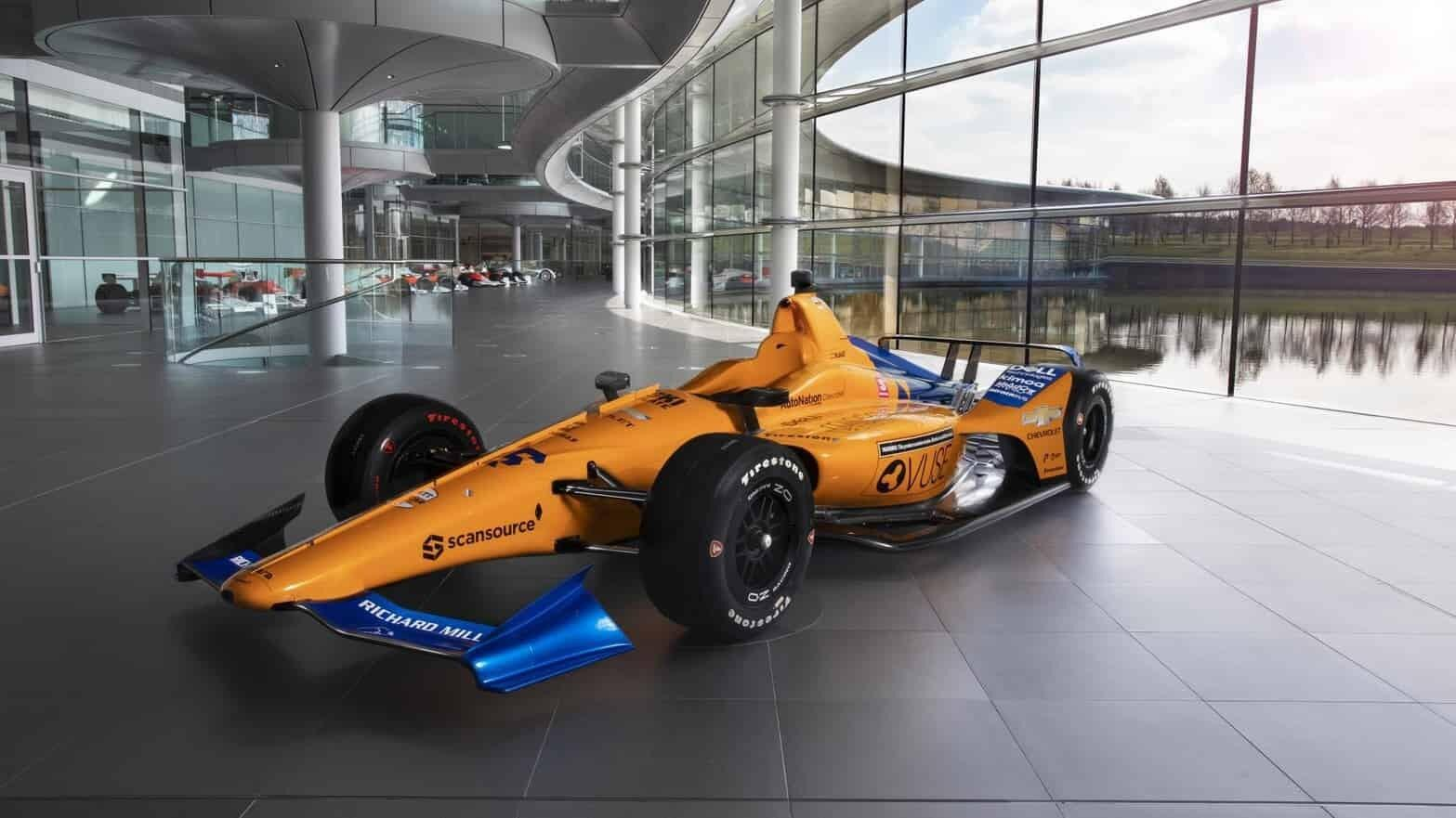 Fernando Alonso has failed to qualify for the 2019 Indy 500...