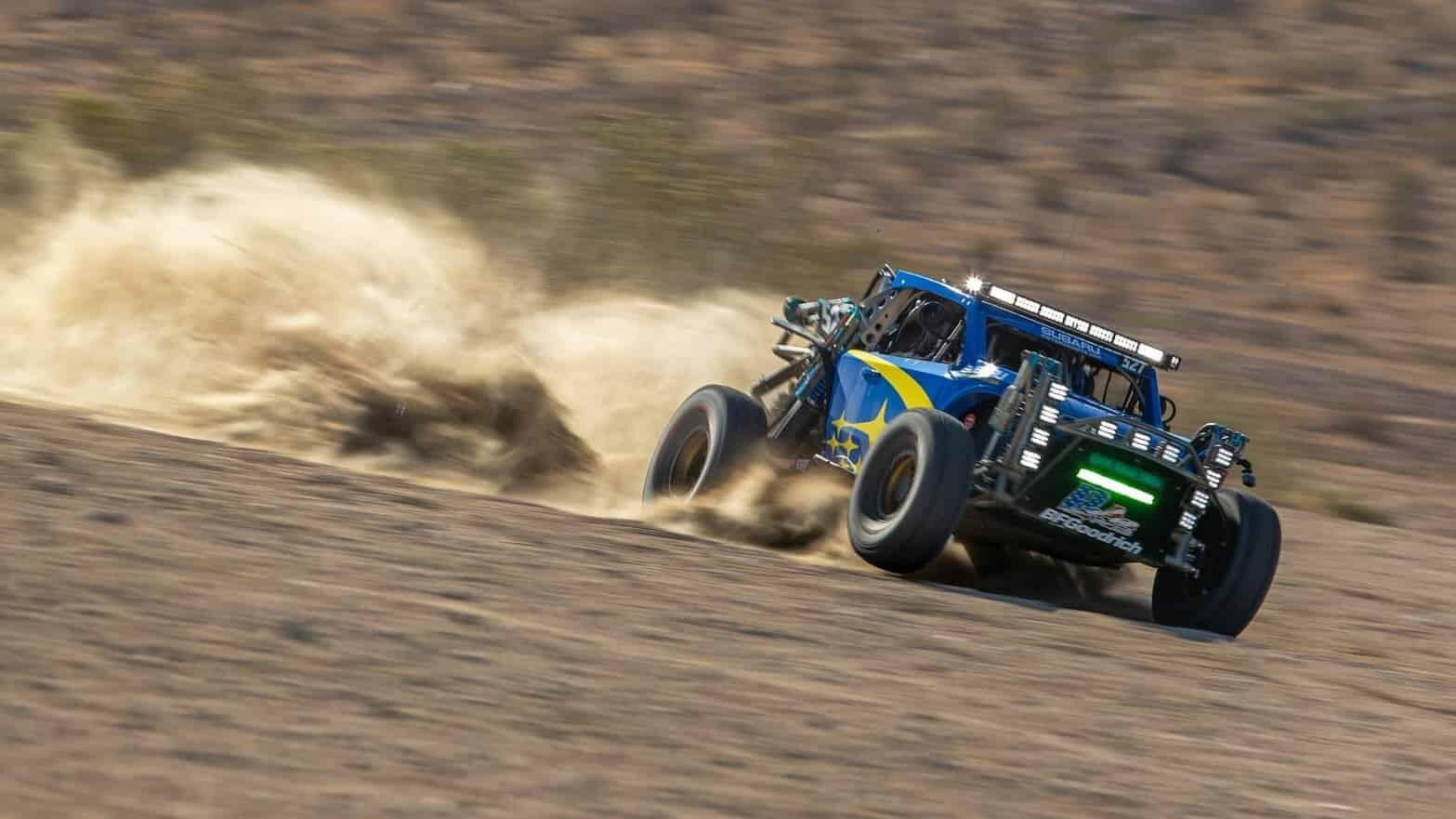 Subaru's Baja racer is the coolest thing you'll see today