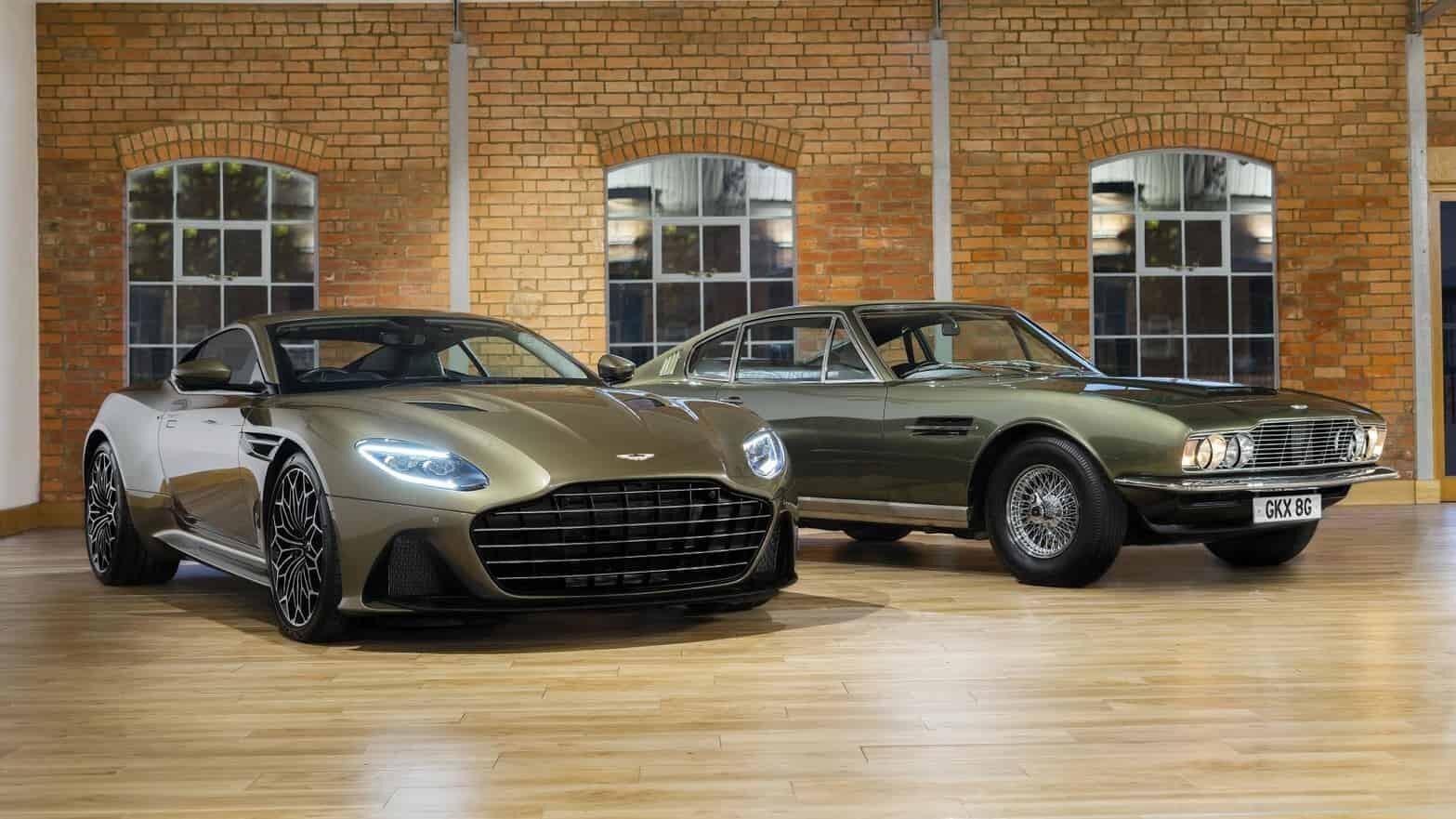 Aston has built a Bond-themed DBS Superleggera
